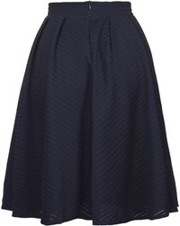 Wal-G - Pleated Lace Midi Skirt By - Lyst