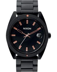 Nixon The Rover Ss Ii Matt Black / Industrial Watch - Lyst