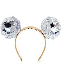 Piers Atkinson - Mega Diamonds Ears Headband - Lyst