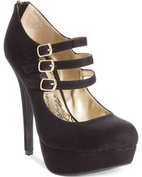 Material Girl Kristin Mary Jane Platform Pumps - Lyst