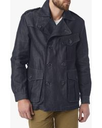 7 For All Mankind - Refined Indigo Trench - Lyst