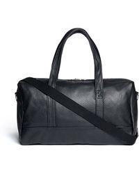 Meilleur Ami Paris - 'bel Ami' Pebbled Leather Duffle Bag - Lyst