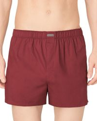 Calvin Klein Classic Woven Boxers 3 Pack - Lyst