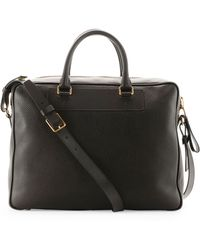 Tom Ford Buckley Sidezip Briefcase - Lyst