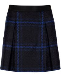 Ted Baker Large Scale Check Skirt - Lyst