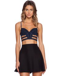 Sass & Bide - Any Given Time Crop Top - Lyst