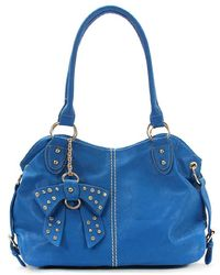 Thirty By Thirtynine - Thirty X Thirtynine Lindsay Bow Tote - Lyst