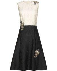 Erdem Enora Embellished Dress - Lyst