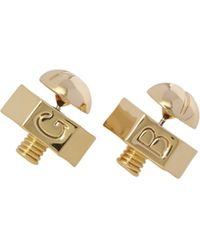 Giles & Brother Nut & Bolt Earrings - Lyst