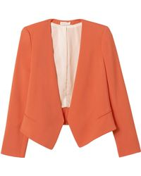 Rebecca Taylor Refined Suiting Blazer - Lyst