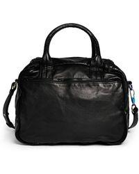 Alexander Wang 'Eugene' Iridescent Hardware Washed Leather Bag - Lyst