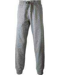 Armani Jeans Gray Sweat Pants - Lyst