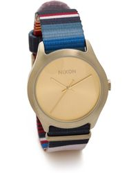 Nixon Mod Watch  Golden Blanket - Lyst