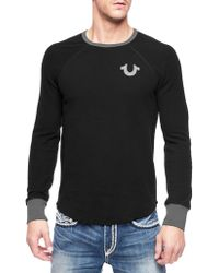 True Religion Crafted with Pride Mens Thermal - Lyst
