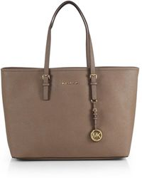 Michael by Michael Kors Jet Set Travel Tote - Lyst