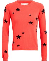 Chinti And Parker Star Patterned Cashmere Jumper - Lyst