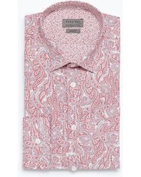 Zara Printed Shirt - Lyst