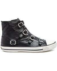 Ash Virgin Buckle Trainers - Lyst