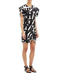 Isabel Marant Flessy T-Shirt Wrap Dress - Lyst