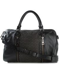 Zadig & Voltaire Sunny Studded Leather Shoulder Bag - Lyst