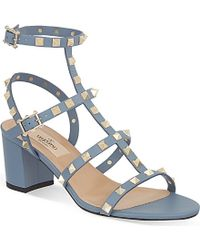 Valentino Rockstud 60 Heeled Sandals - For Women - Lyst