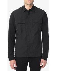 Hudson Military Shirt Jacket - Lyst