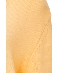 Trademark   Peach Cashmere Sweater   Lyst