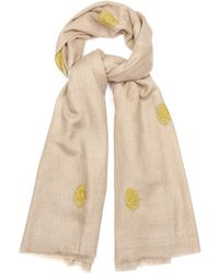 Me and Kashmiere - Boti Circle Cashmere Scarf - Lyst