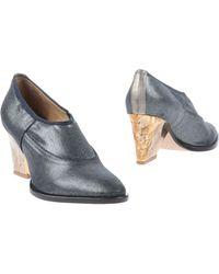 Zoe Lee Gray Shoe Boots - Lyst