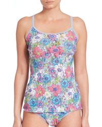 Hanky Panky   Penelope Floral-print Camisole   Lyst