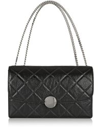 Marc Jacobs Trouble Quilted Leather Shoulder Bag - Lyst
