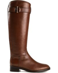 Tory Burch Grace Riding Boots - Lyst