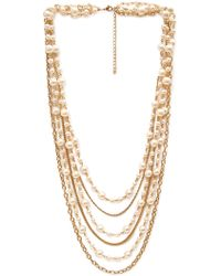 Forever 21 Favorite Faux Pearl Necklace - Lyst