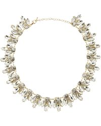 Kenneth Jay Lane Crystal Necklace - Lyst