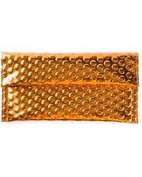 Mm6 By Maison Martin Margiela Shiny Textured Purse - Lyst