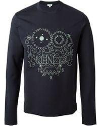 Kenzo Monster Sweatshirt - Lyst