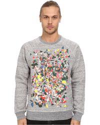 Marc Jacobs Allover Print Swirly Sweatshirt gray - Lyst