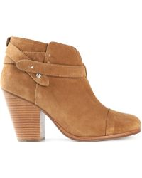 Rag & Bone Beige Ankle Boots - Lyst