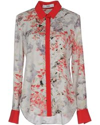 Prabal Gurung Long Sleeve Shirt - Lyst