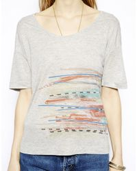 Twenty 8 Twelve Digital Printed Tshirt - Lyst