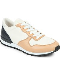 Tod's Leather Trainers - For Men - Lyst