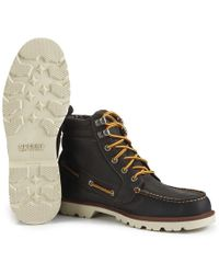 Sperry Top-Sider - Men's A/o Lug Waterproof Leather Lace Up Boots - Lyst