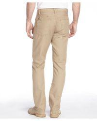 Howe - Sand Stretch Cotton Linen 'cali Kool Canvas' Jeans - Lyst
