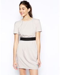 AX Paris 2 In 1 Dress With Band Belt - Lyst