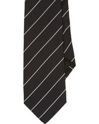 Ralph Lauren Black Label Diagonalstripe Neck Tie - Lyst