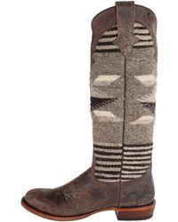 Stetson Serape Round Toe Boot - Lyst