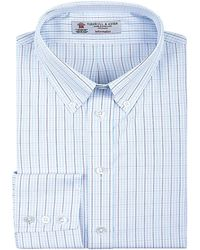 Turnbull & Asser Button-Down Collar Fine Check Shirt - Lyst