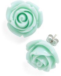Ana Accessories Inc Retro Rosie Earrings - Lyst