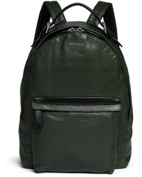 Cole Haan 'Truman' Grainy Leather Backpack - Lyst