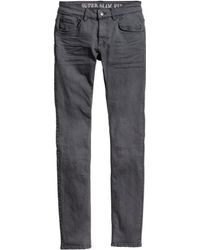 H&M Trousers Super Skinny Fit - Lyst
